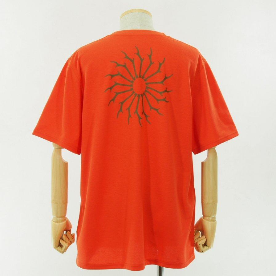 South2 West8 - Round Pocket Tee - Pe/C Jersey - Circle Horn - Orange