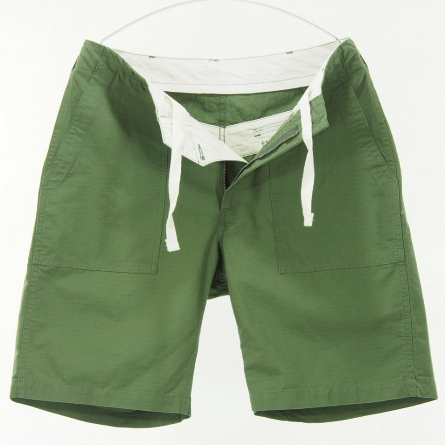 Engineered Garments - Fatigue Short -  Cotton Ripstop - Olive