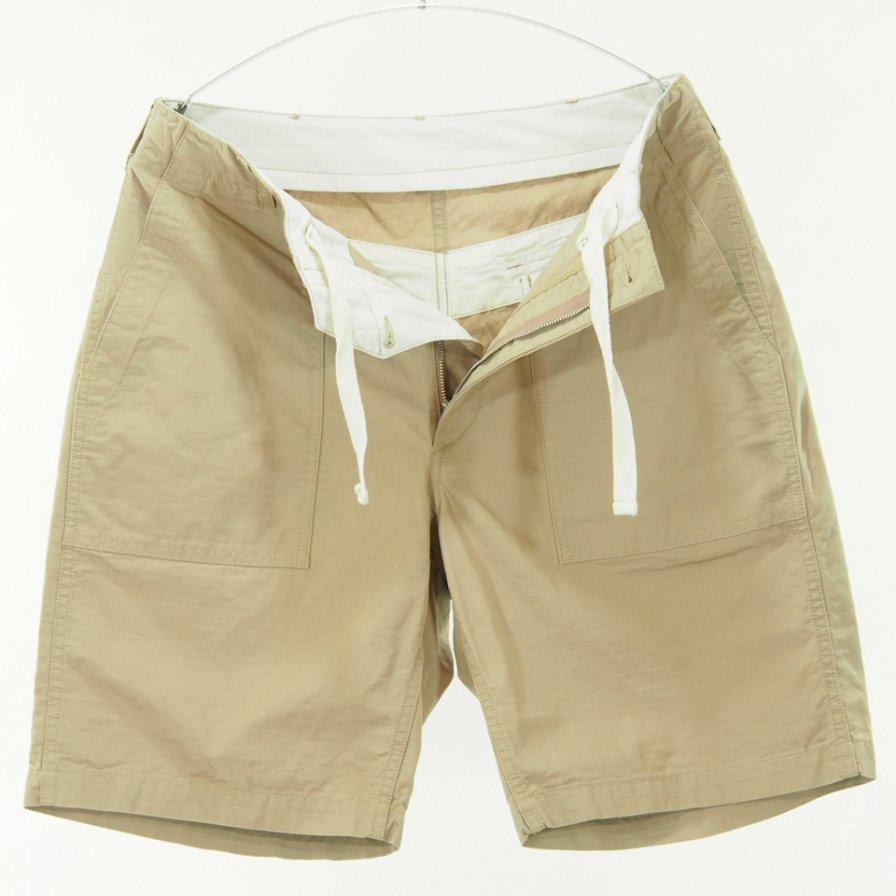 Engineered Garments - Fatigue Short -  Cotton Ripstop - Khaki