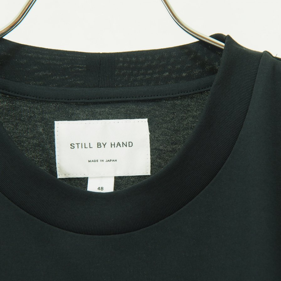 STILL BY HAND スティルバイハンド - Boxy Silhouette T-Shirt - Charcoal