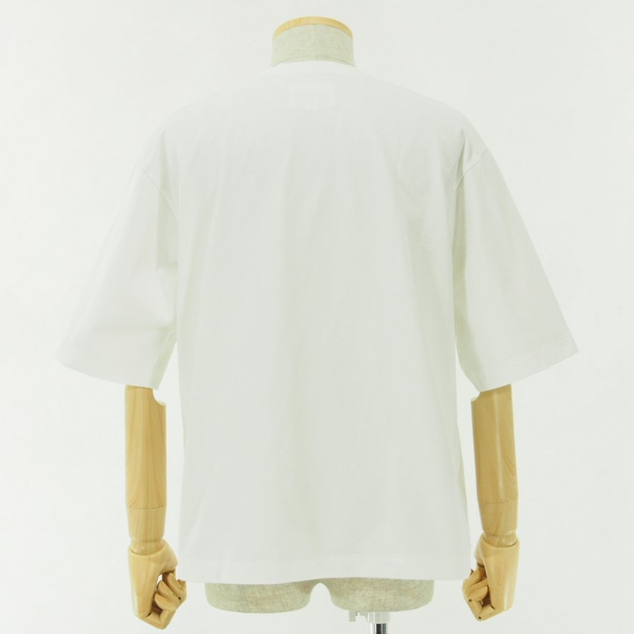 STILL BY HAND - Oversize T-Shirt - White