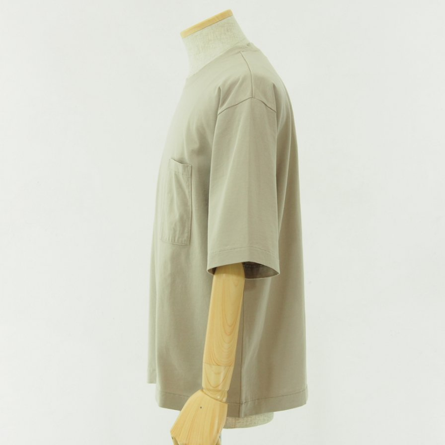 STILL BY HAND スティルバイハンド - Oversize T-Shirt - Beige