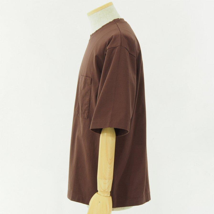 STILL BY HAND スティルバイハンド - Oversize T-Shirt - Brown