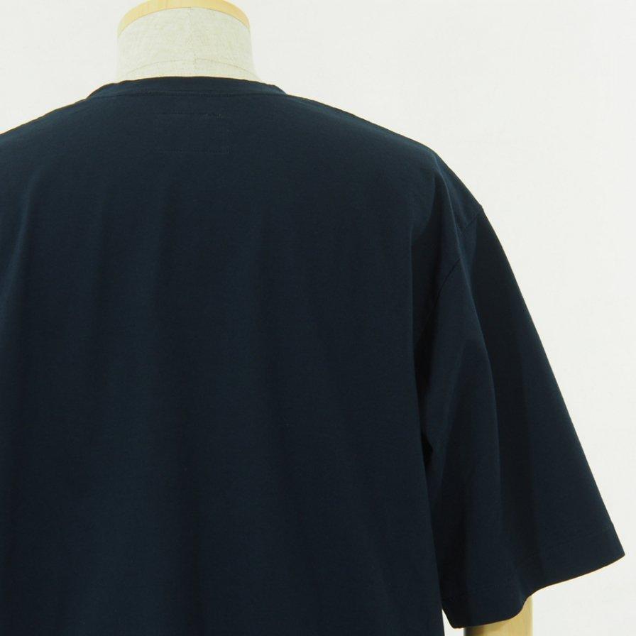 STILL BY HAND スティルバイハンド - Oversize T-Shirt - Navy