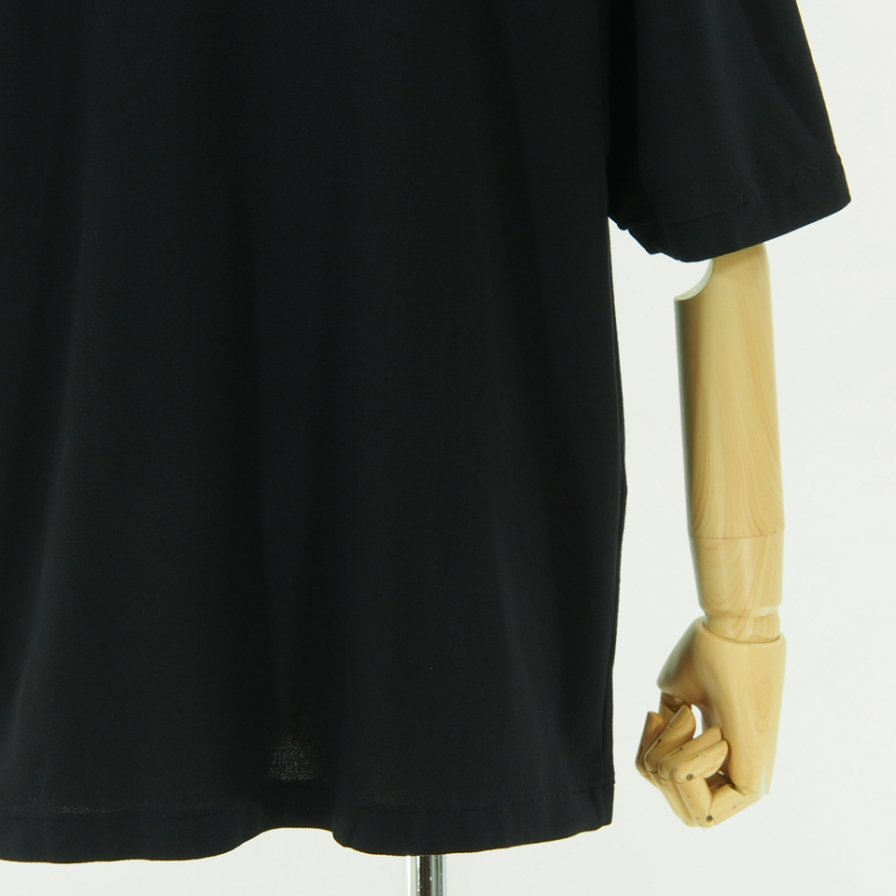 STILL BY HAND - Basic Crew Neck T-Shirt - Navy
