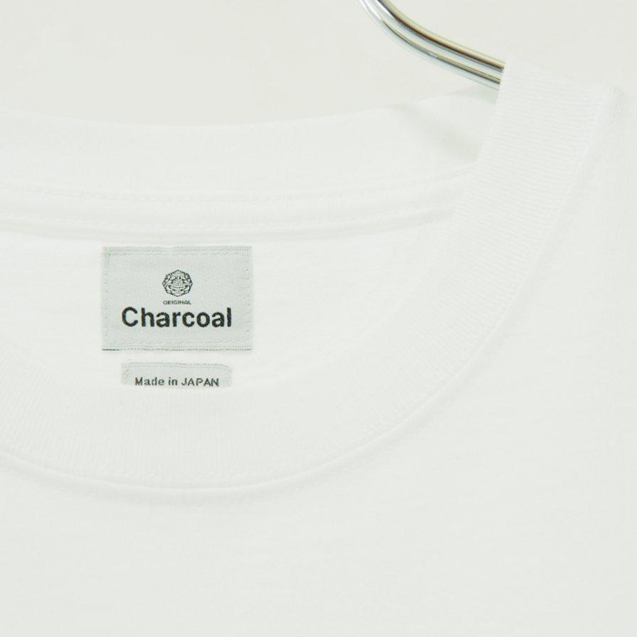 Charcoal - OC 29/USA Crew W S/S - White