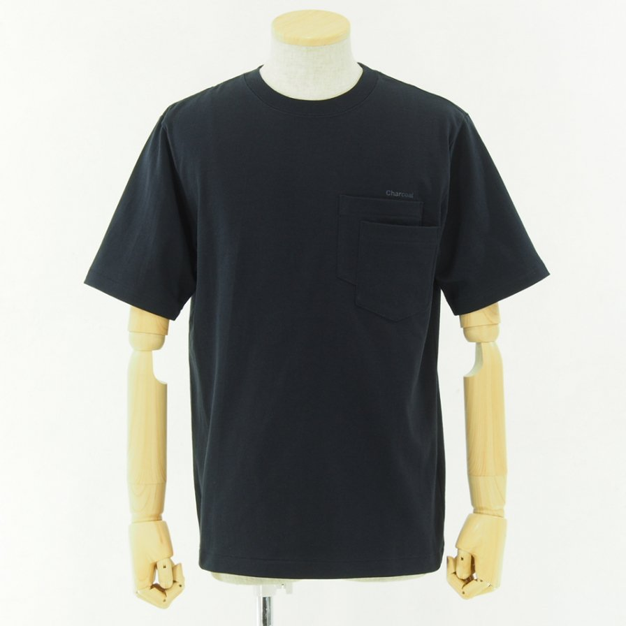 Charcoal - OC 29/USA Crew W S/S - D/Navy