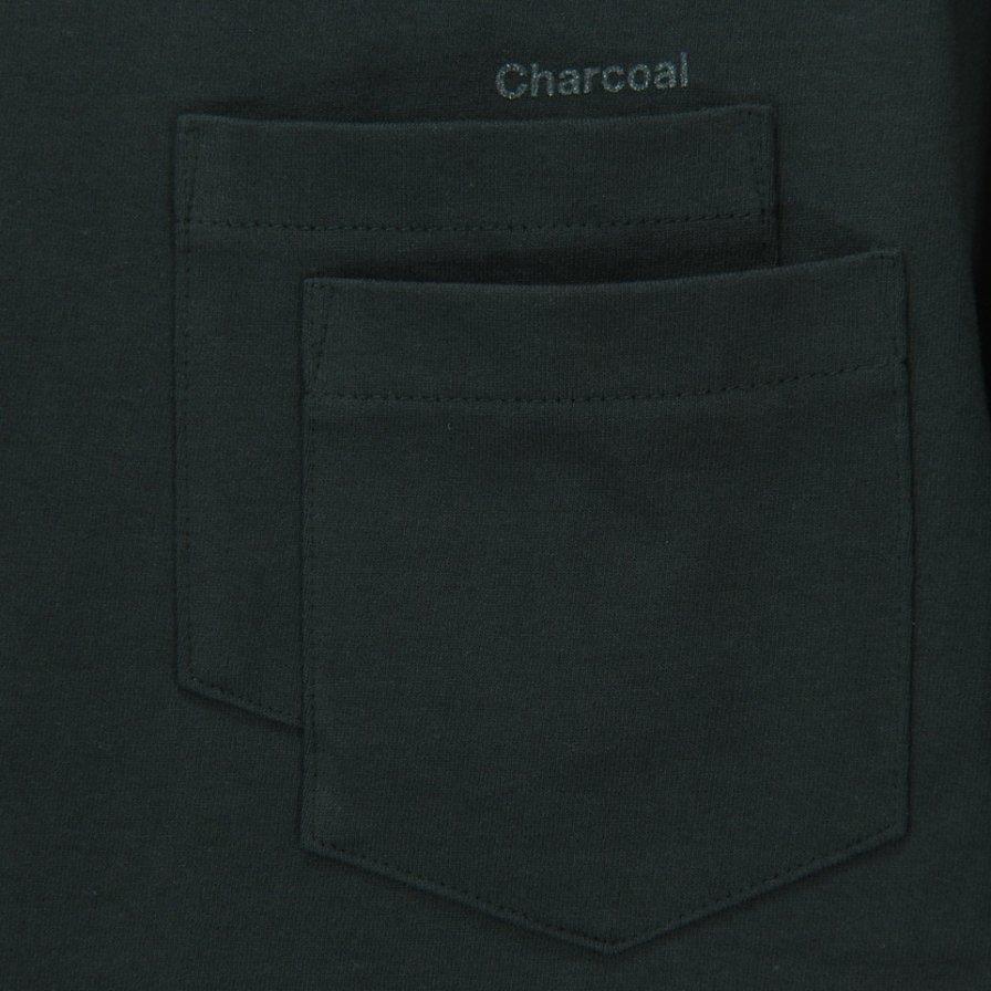 Charcoal - OC 29/USA Crew W S/S - Charcoal