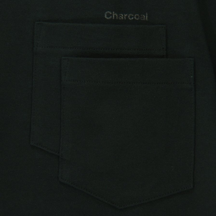 Charcoal - OC 29/USA Crew W S/S - Black