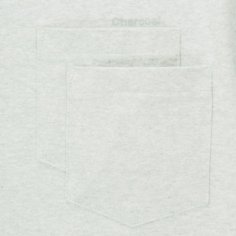Charcoal - OC 29/USA Crew W S/S - Mix Ash