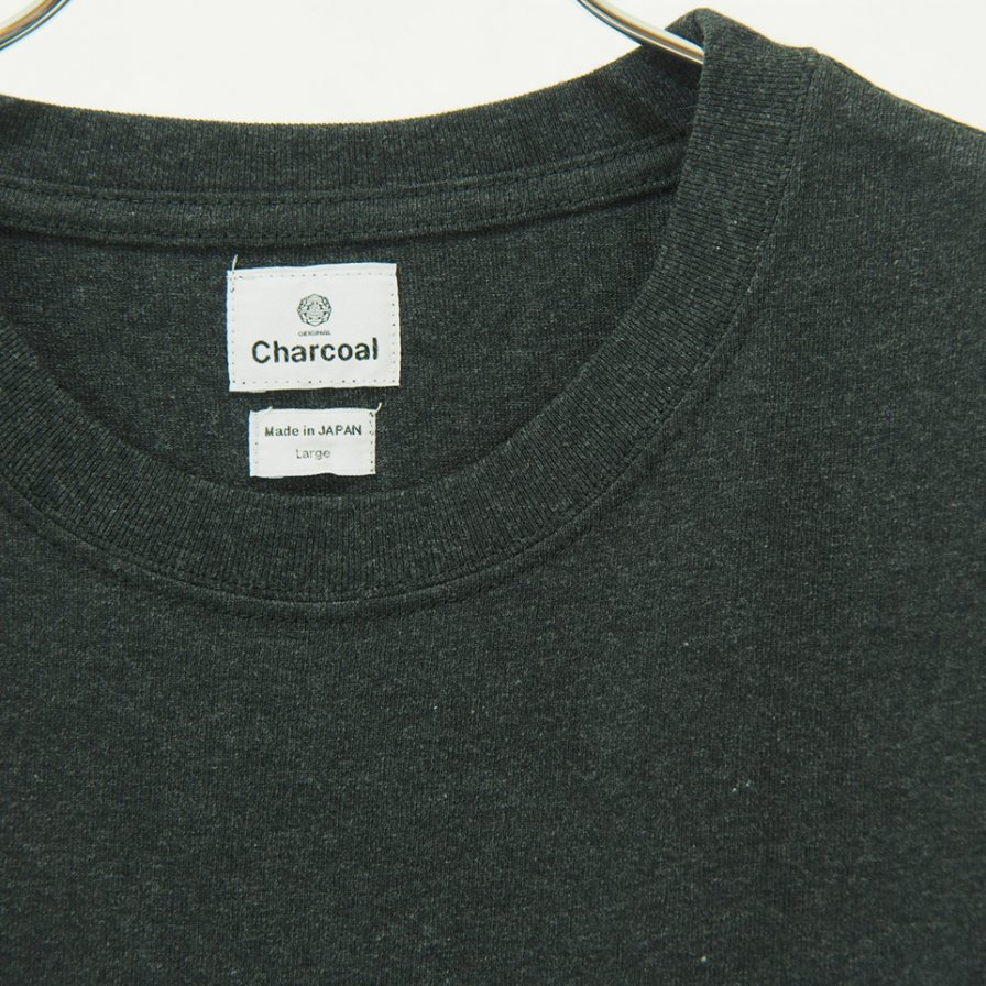 Charcoal - OC 29/USA Crew W S/S - Mix Charcoal