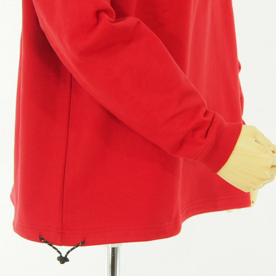 Moutain Smith - Pocket Sweat - Red