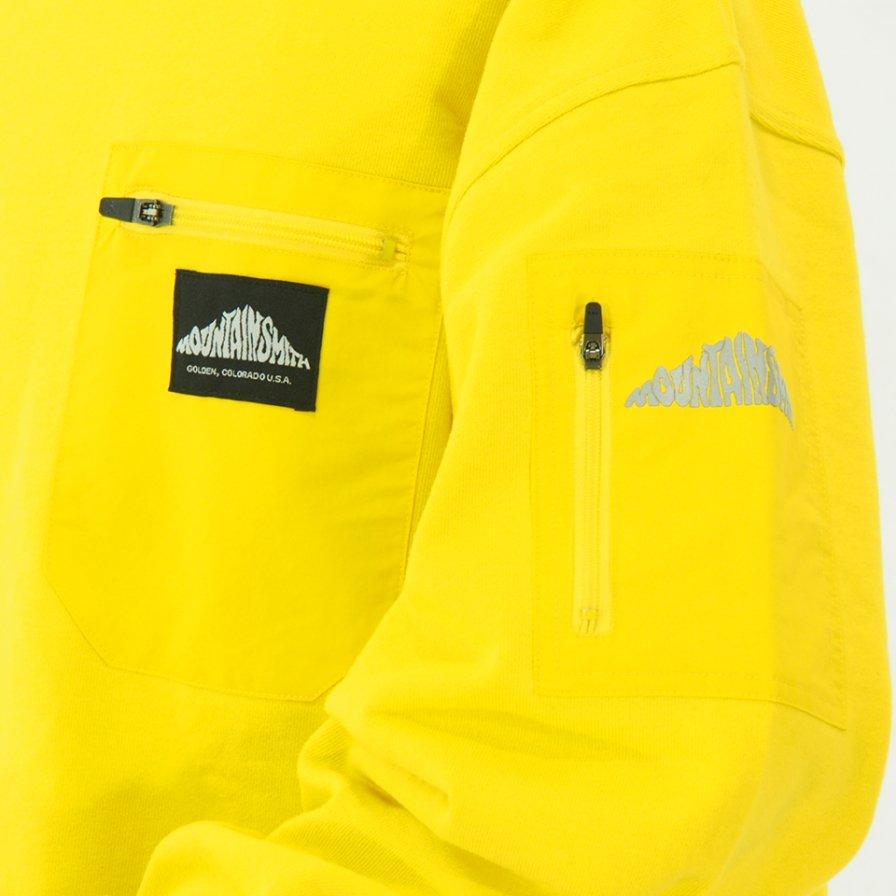 Moutain Smith マウンテンスミス - Pocket Sweat - Yellow