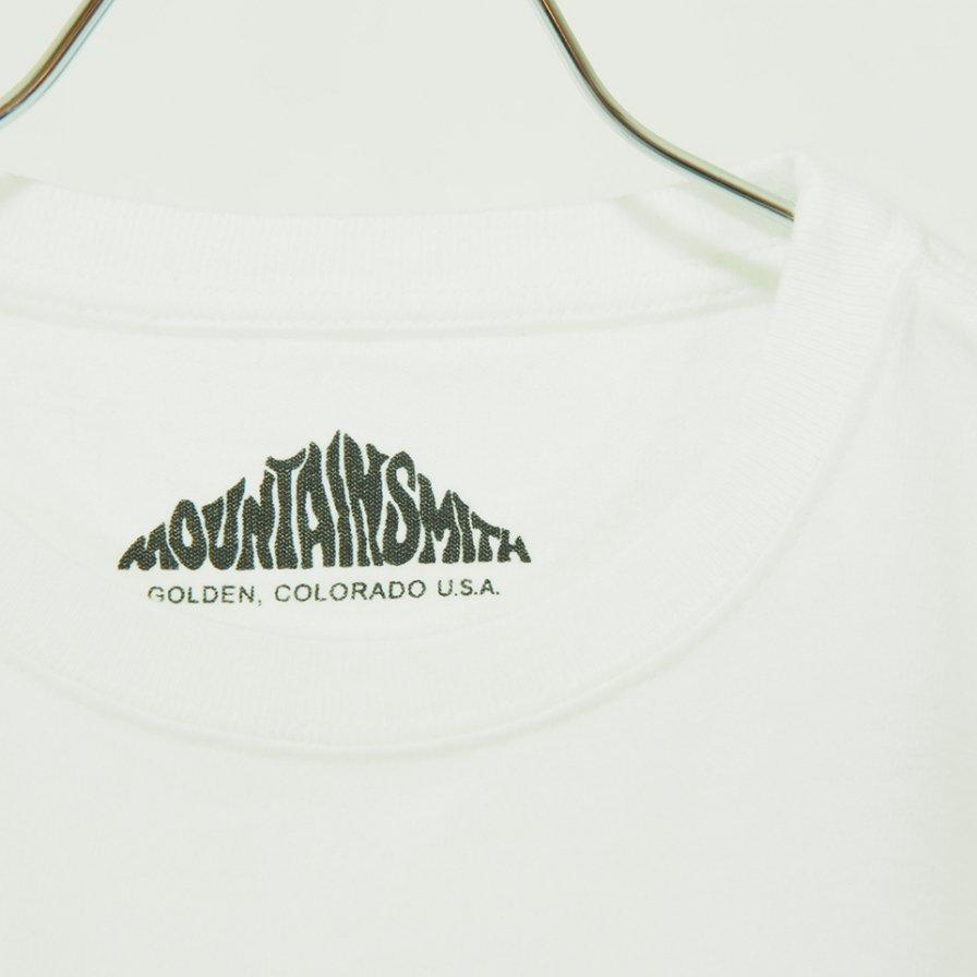 Moutain Smith - Big Print L/S Tee - Off White