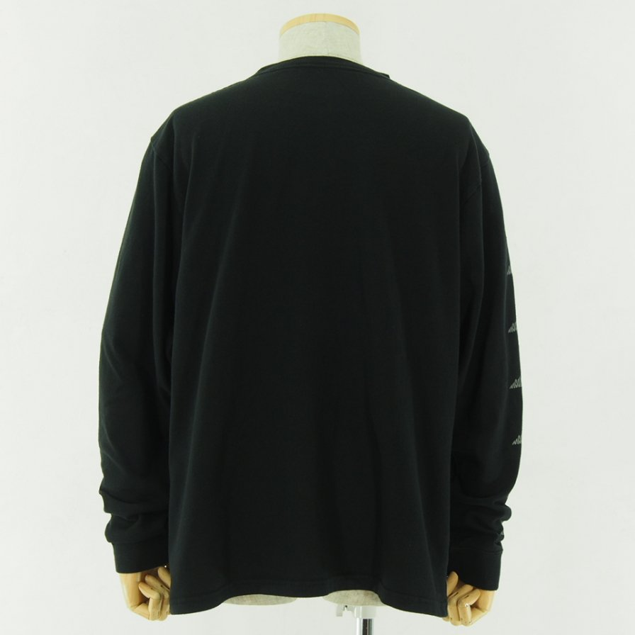Moutain Smith - Small Print L/S Tee - Black