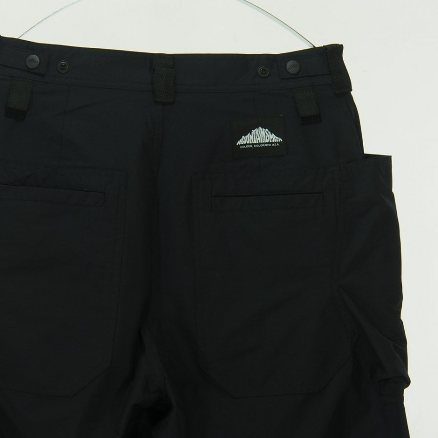 Moutain Smith - Big Pocket Stretch Nylon Pant - Black