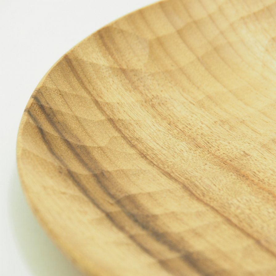 AKIHIRO WOODWORKS アキヒロウッドワークス - Wood Plate 240 ウッドプレート
