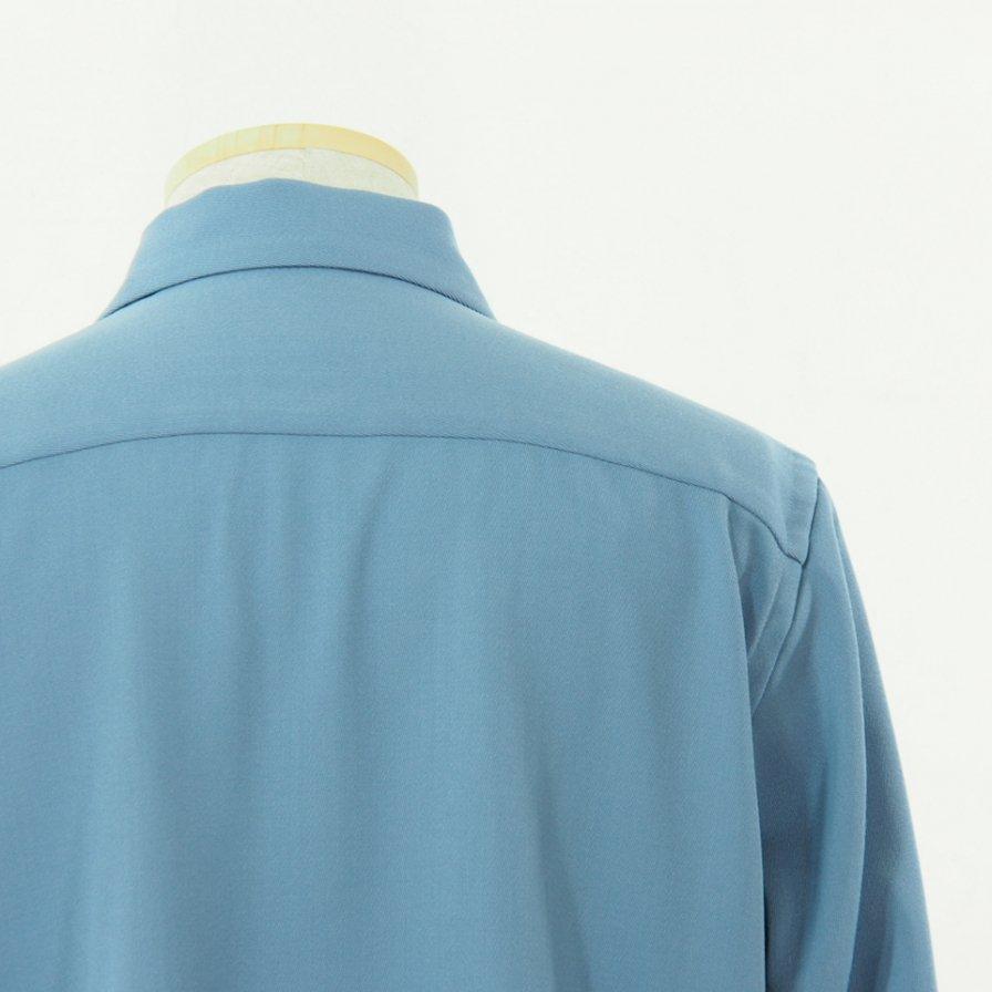 Needles ニードルズ - C.O.B. One Up Shirt - Pe/W Doeskin - Sax