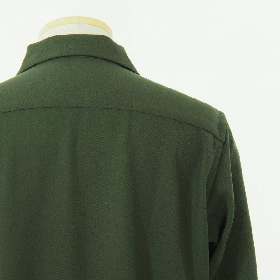 Needles ニードルズ - C.O.B. One Up Shirt - Pe/W Doeskin - Olive