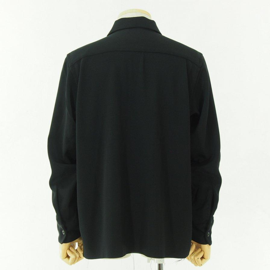 Needles ニードルズ - C.O.B. One Up Shirt - Pe/W Doeskin - Black