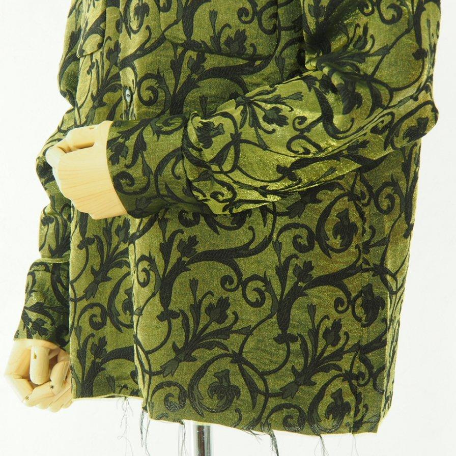 Needles ニードルズ - C.O.B. Classic Shirt - Arabesque Jq. - Green