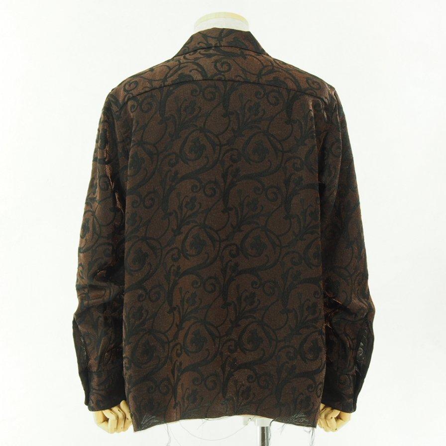 Needles ニードルズ - C.O.B. Classic Shirt - Arabesque Jq. - Brown