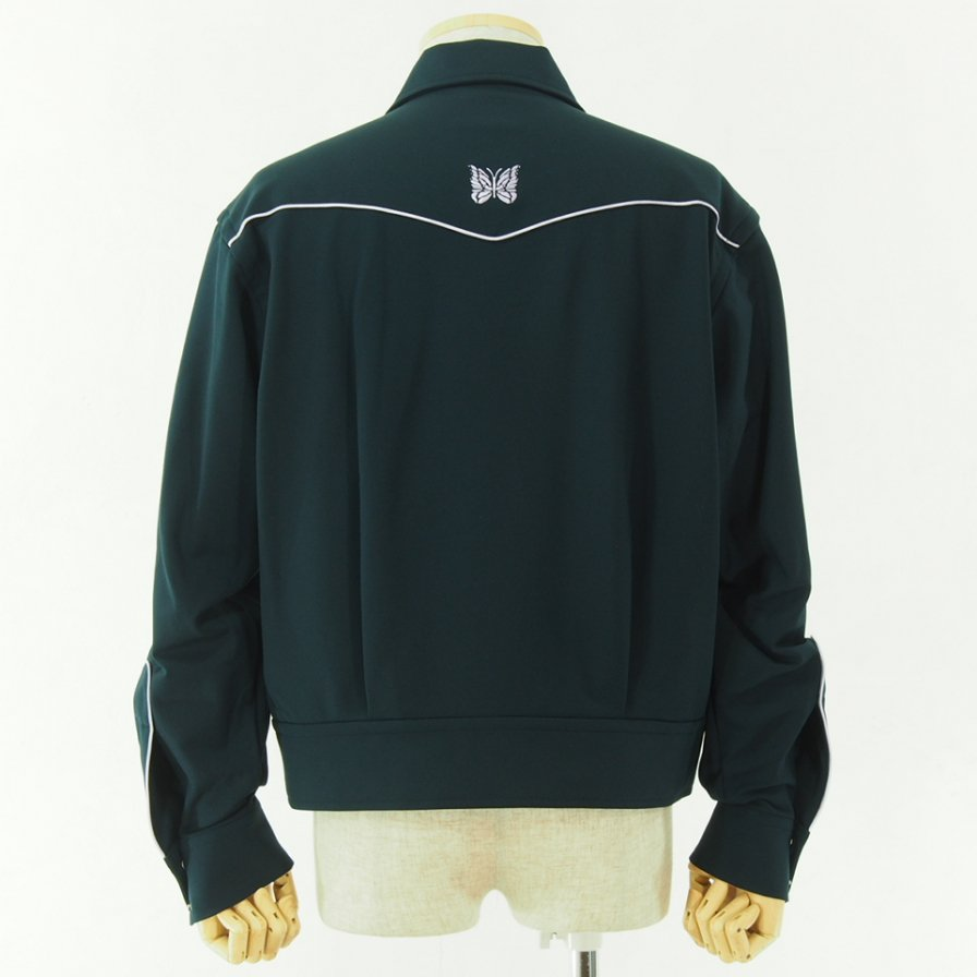 Needles ニードルズ  - Piping Cowboy Jac - Pe/R/Pu Twill - Green