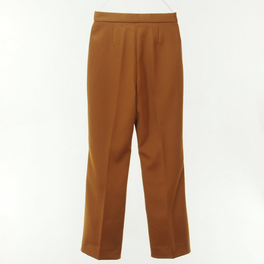 Needles Women ニードルズウィメン - Piping C.S. Leisure Pant - Pe/R Dosekin - Brown
