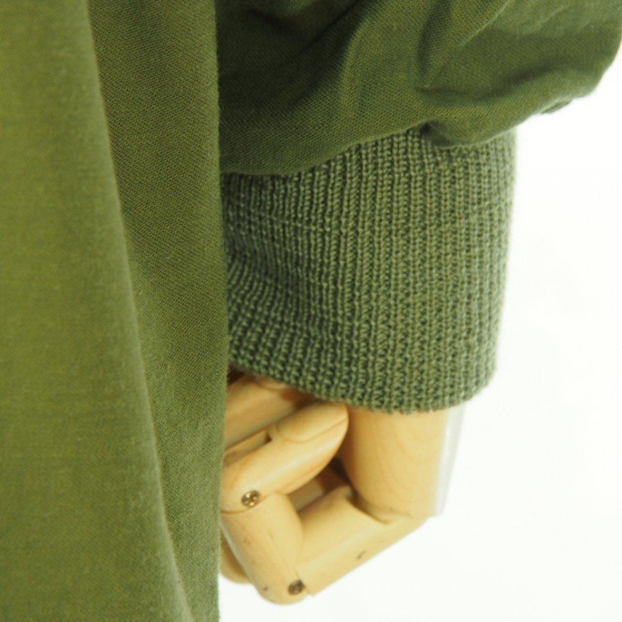 Needles ニードルズ - S.C. Army Shirt - Back Sateen - Olive