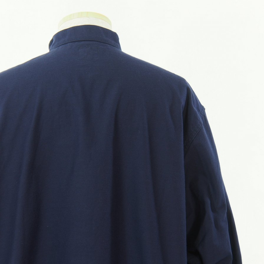 Needles ニードルズ - S.C. Army Shirt - Back Sateen - Navy