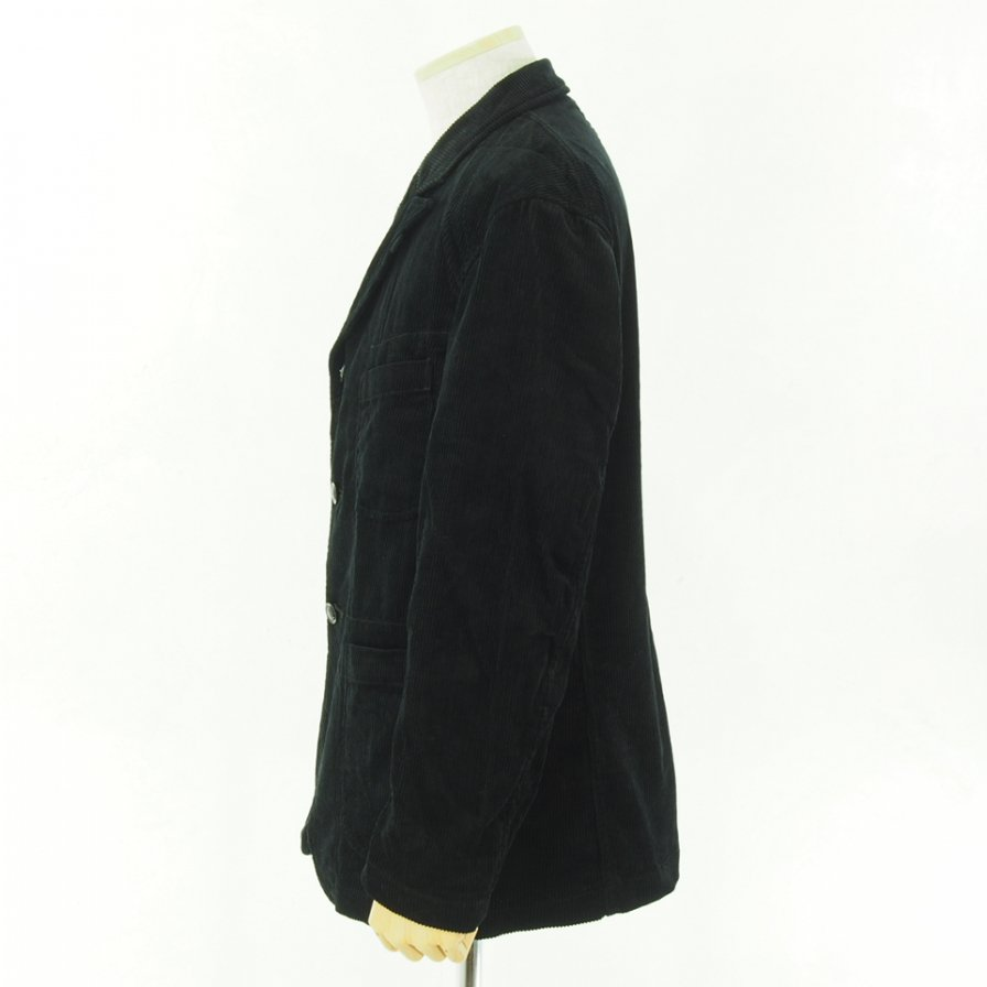 Engineered Garments エンジニアドガーメンツ - Bedford Jacket - 8W Cord - Black