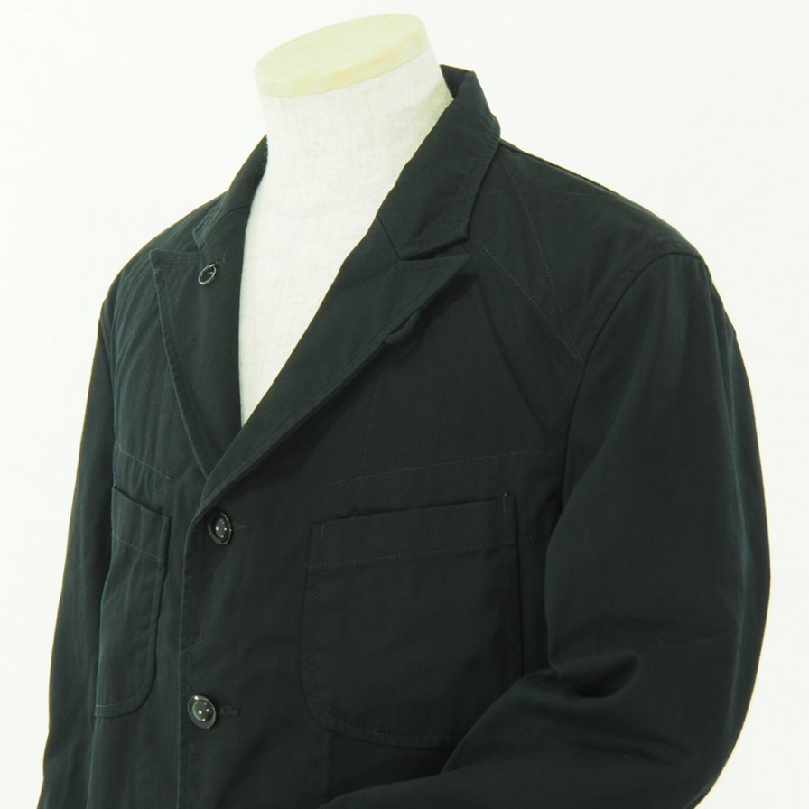 Engineered Garments エンジニアドガーメンツ - Bedford Jacket - HB Twill - Black