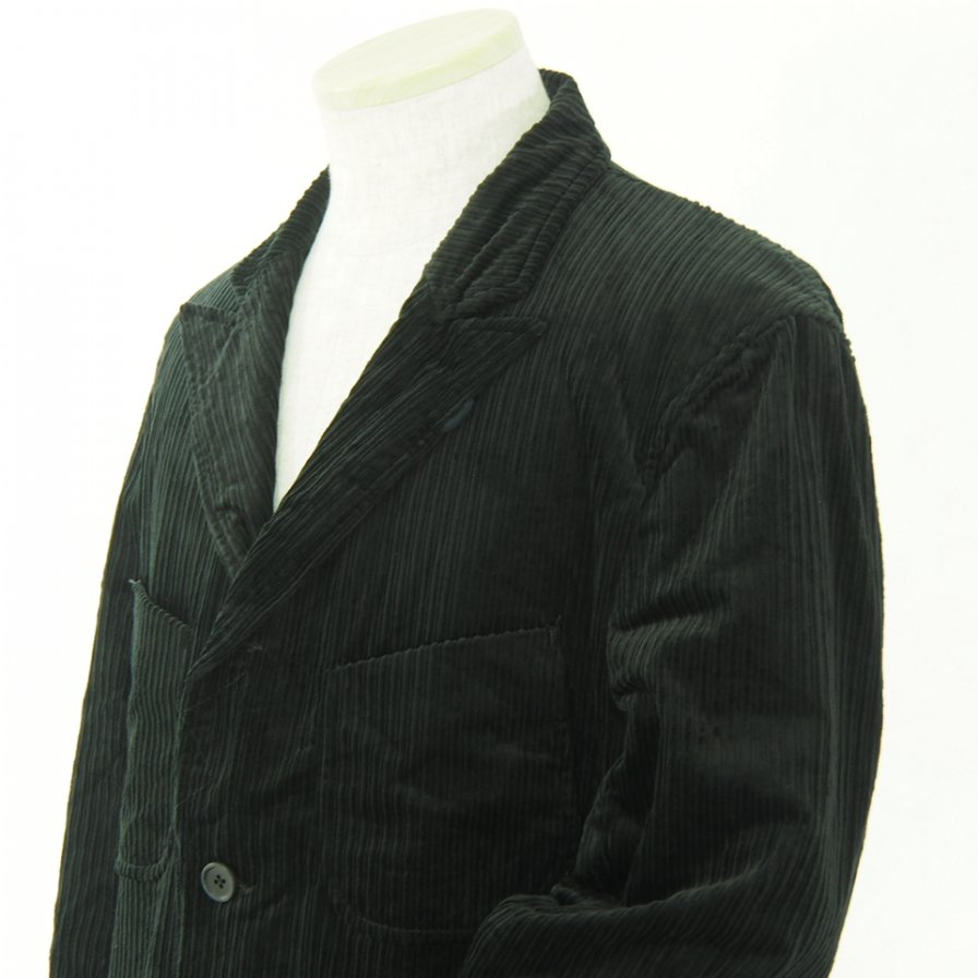 Engineered Garments エンジニアドガーメンツ - NB Jacket -  Hi Lo Cord - Black