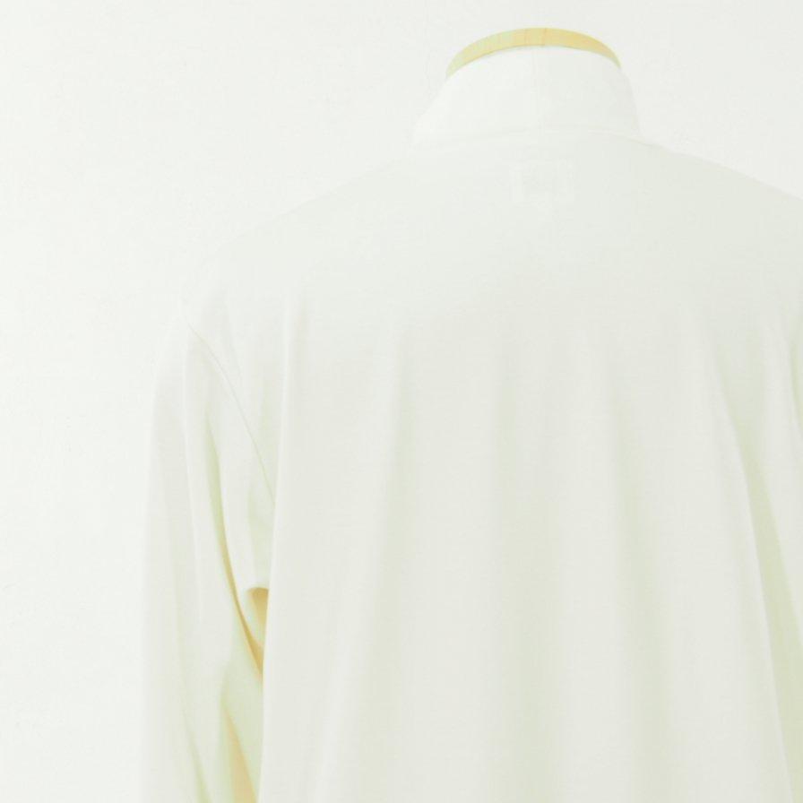 the conspires ザコンスパイアーズ - Mock Turtle Neck L/S Tee - White