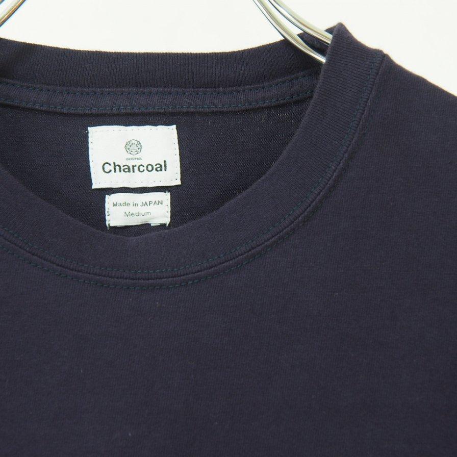 Charcoal チャコール - OC 29/USA Crew W L/S - E/Navy