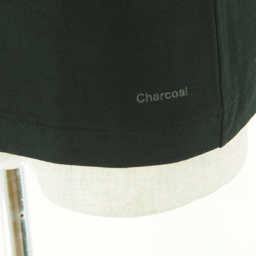 Charcoal チャコール - OC 29/USA Crew W L/S - Black