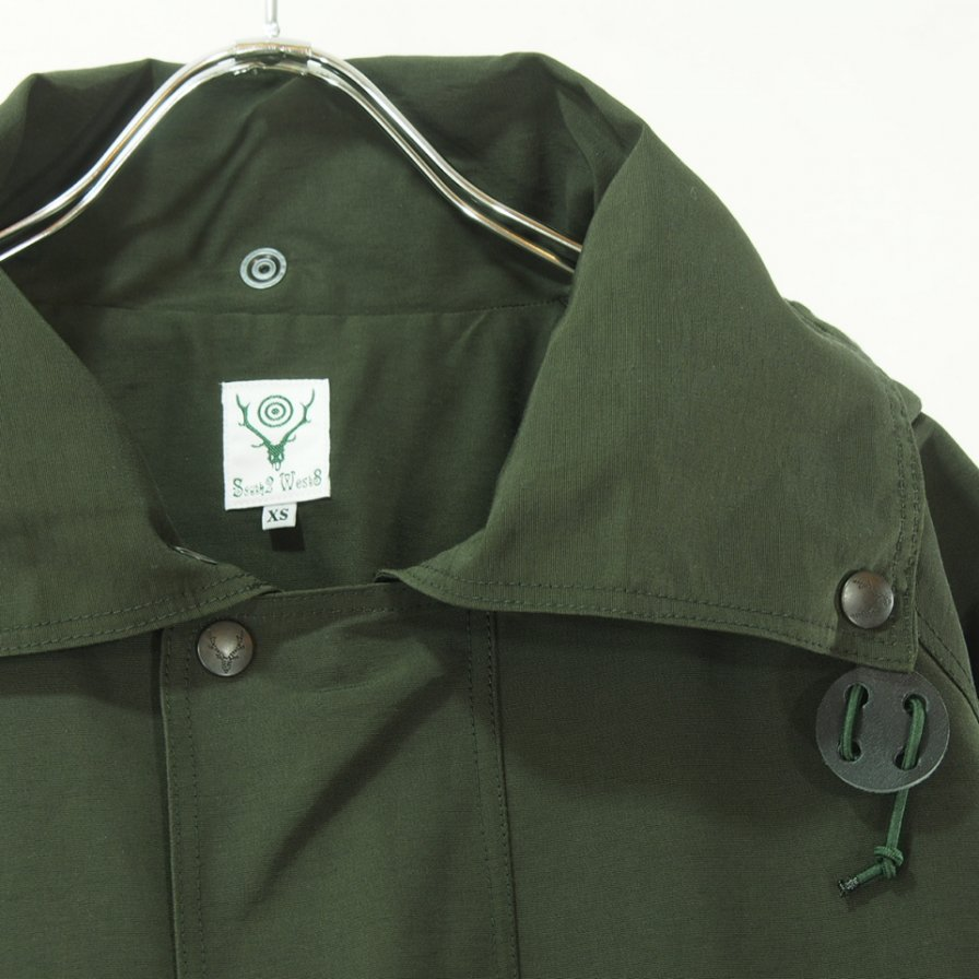 South2 West8 サウスツーウエストエイト - Carmel Coat - 60/40 Cloth - Green