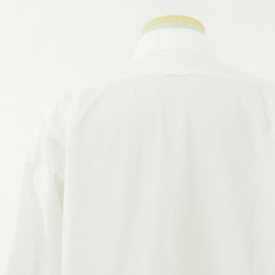 Engineered Garments エンジニアドガーメンツ - Short Collar Shirt - Cotton Oxford - White