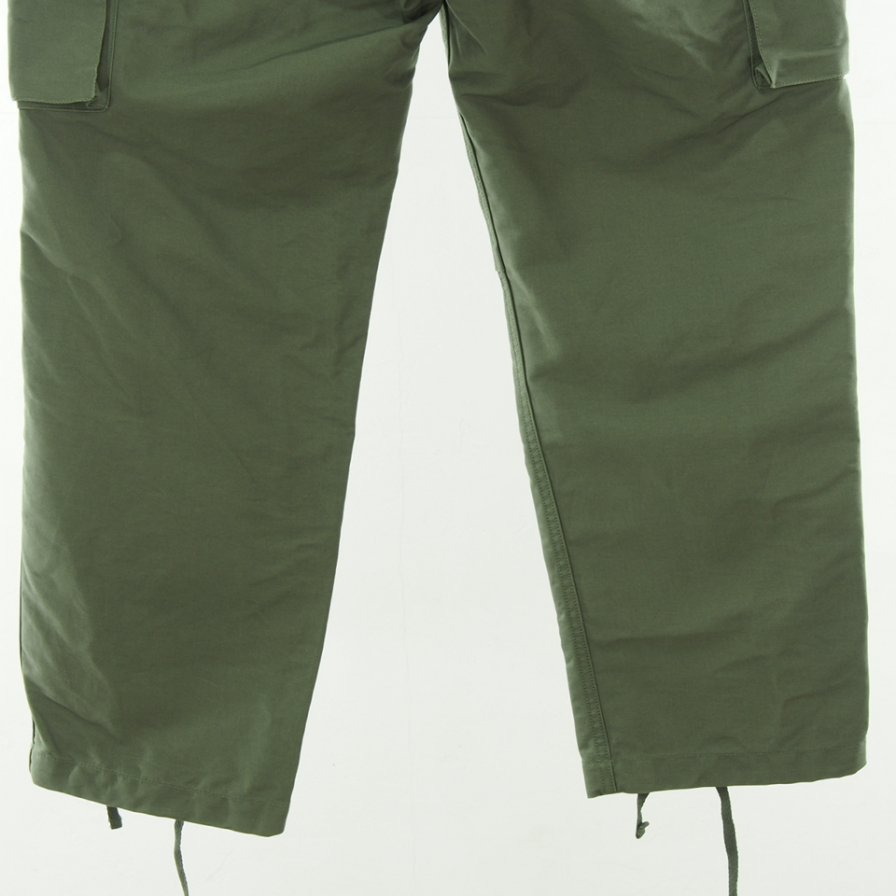 Engineered Garments エンジニアドガーメンツ - FA Pant - Double Cloth - Olive