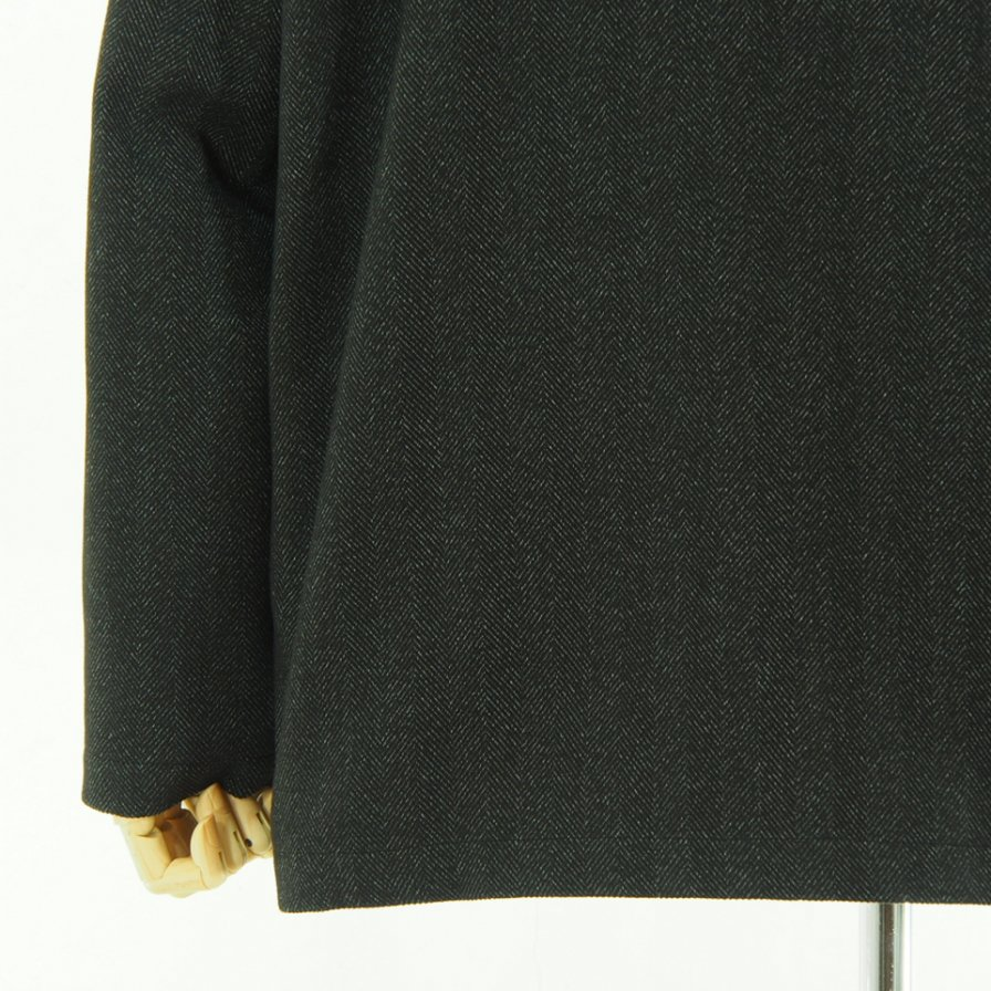 the conspires コンスパイアーズ - Stand Collar HB Jacket - Charcoal