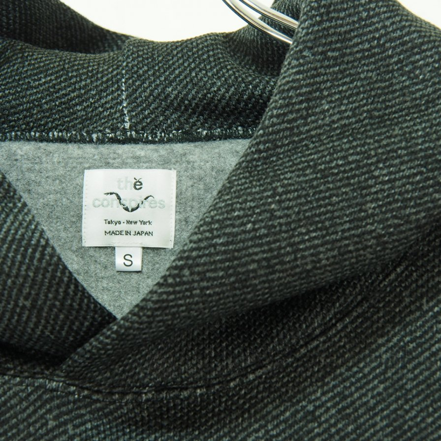 the conspires コンスパイアーズ - Inside Flannel Polyester Parka - Charcoal