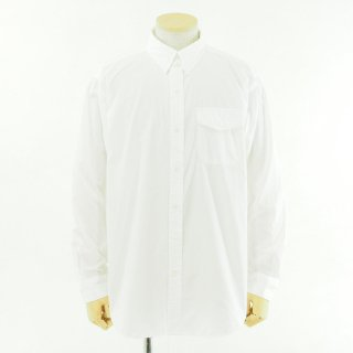 Engineered Garments エンジニアドガーメンツ - Tab Collar Shirt - 100's Broadcloth - White
