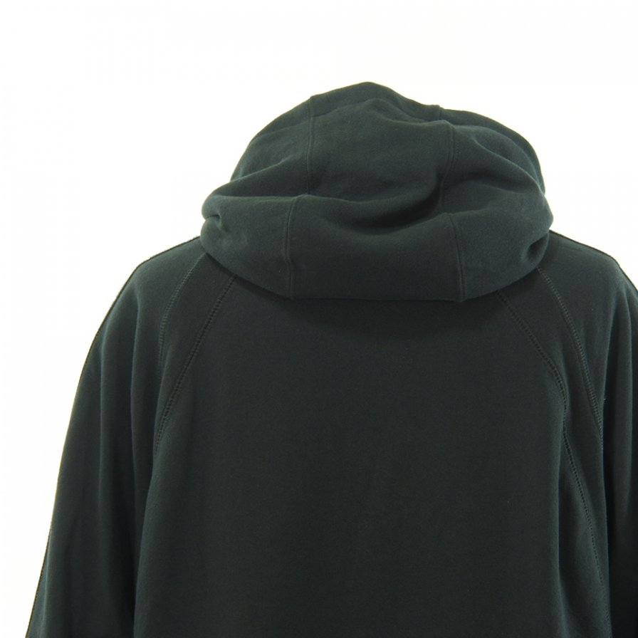 Engineered Garments エンジニアドガーメンツ - Raglan Hoody w Tape - Fleece - Black