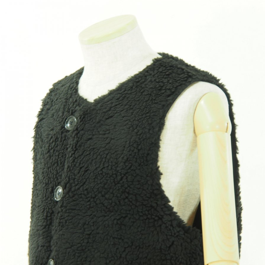 Engineered Garments エンジニアドガーメンツ - Over Vest - Double Cloth - Navy
