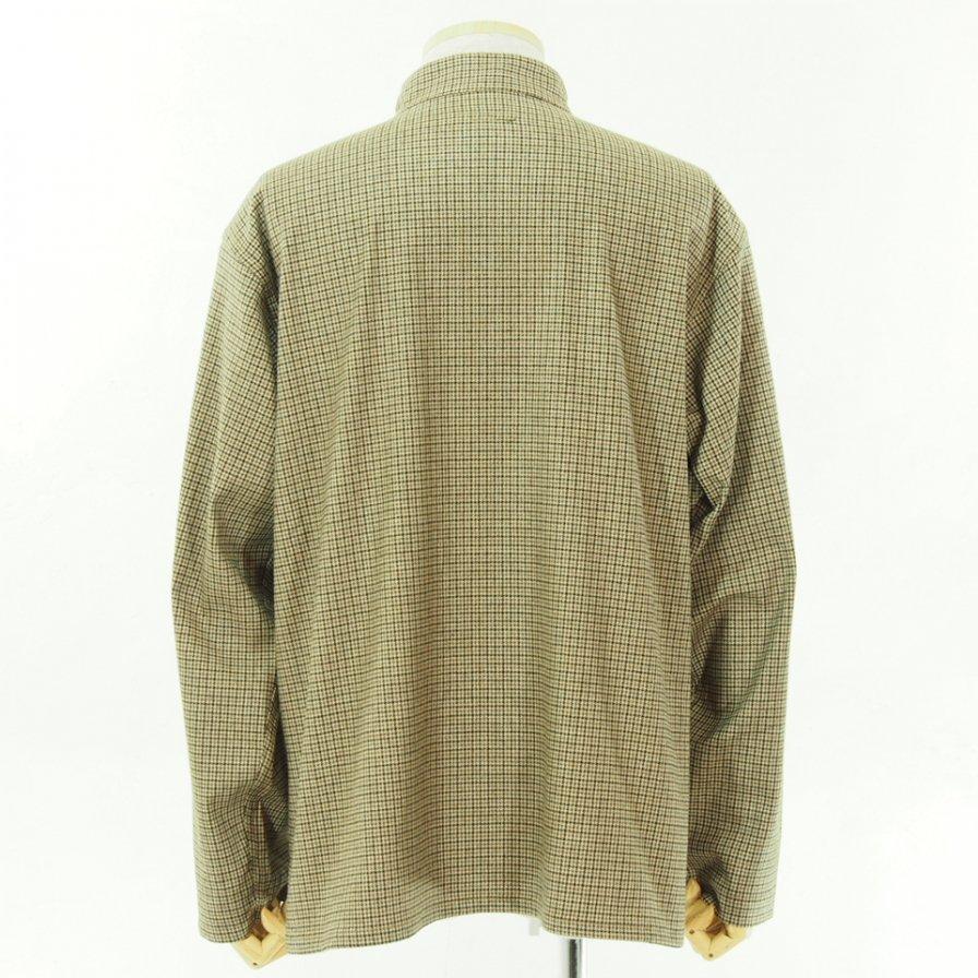 Engineered Garments エンジニアドガーメンツ - Dayton Shirt - Gunclub Check - Brown