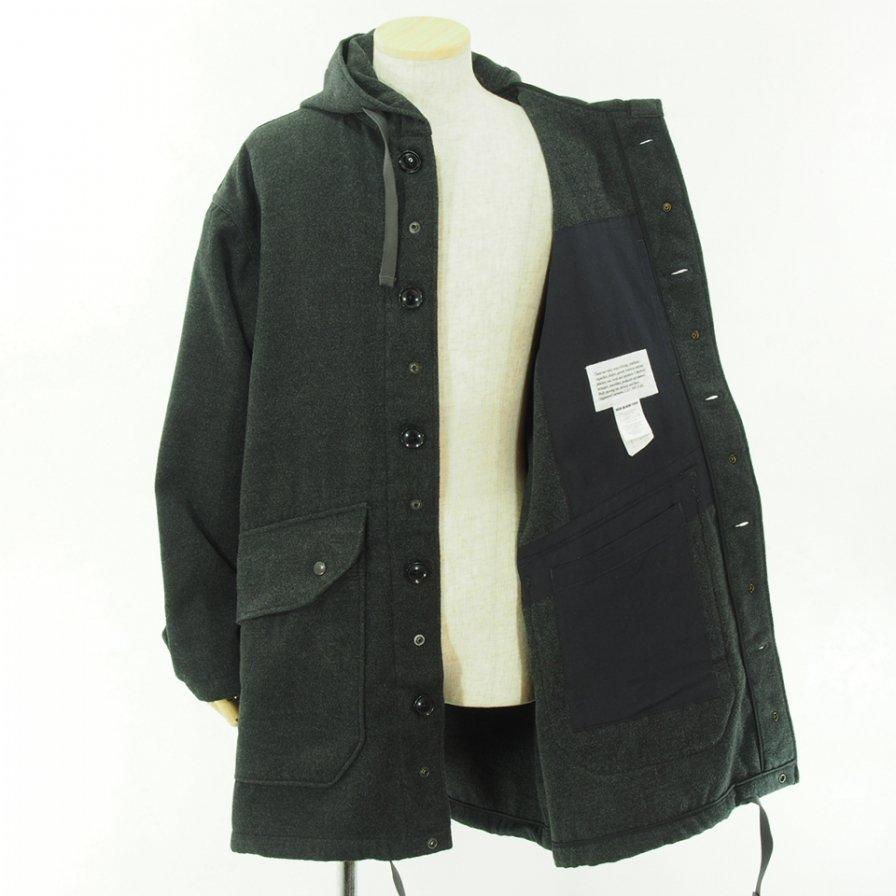 Engineered Garments エンジニアドガーメンツ - Madison Parka - Fake Melton - Charcoal