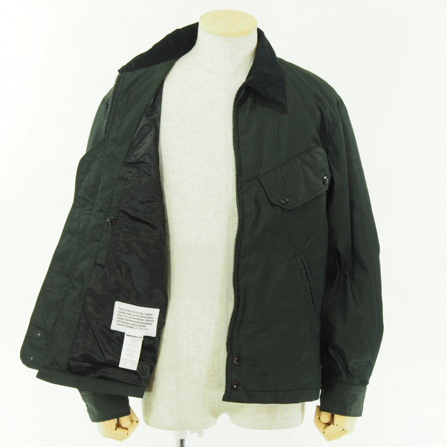Engineered Garments エンジニアドガーメンツ - Driver Jacket -  PC Iridescent Twill - Black