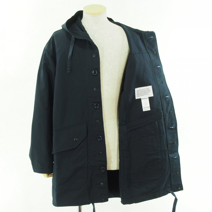 Engineered Garments エンジニアドガーメンツ - Madison Parka - Double Cloth - Navy
