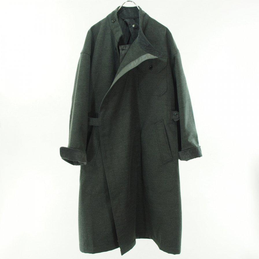 Engineered Garments エンジニアドガーメンツ - MG Coat - Fake Melton - Charcoal