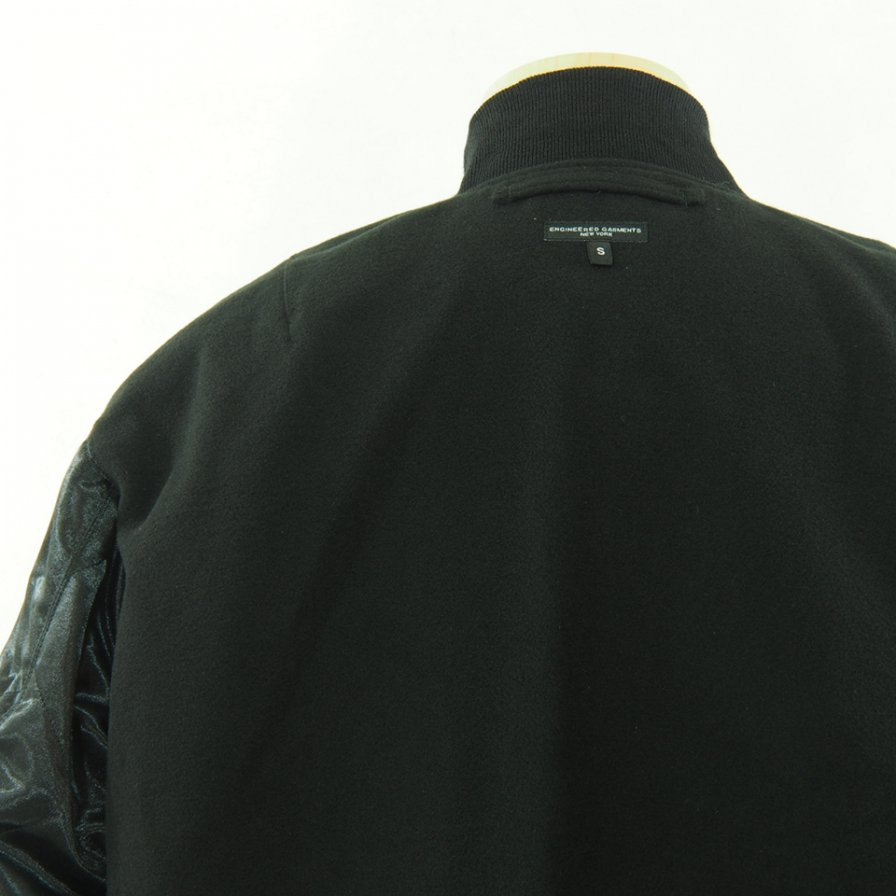 Engineered Garments エンジニアドガーメンツ - SVR Jacket - Flight Satin - Black